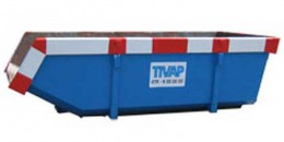 Bouwafval container 6 m3